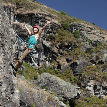 Experience Wanaka Outdoor Rock Climbing