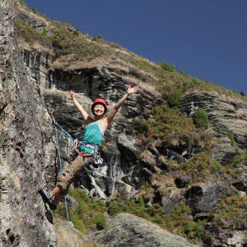 Wanaka Outdoor Rock Climbing at its best