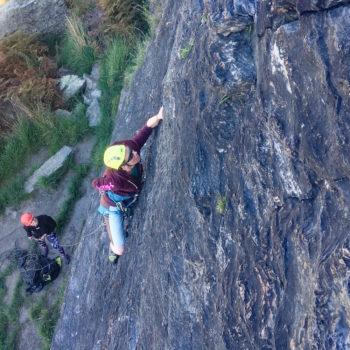 Lead Climbing Riverside