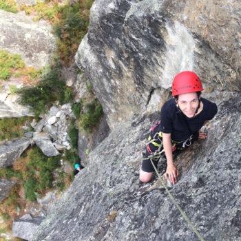 Multipitch rock adventure