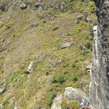 Multipitch climbing