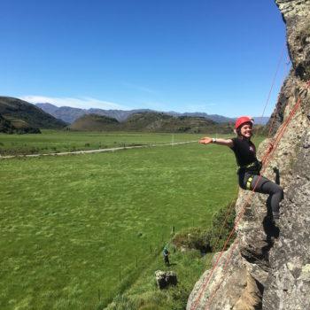 Rockclimbing in Wanaka