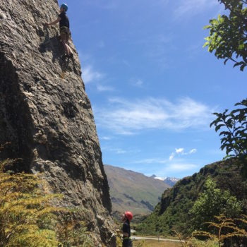 Climbing at Hospital Flat